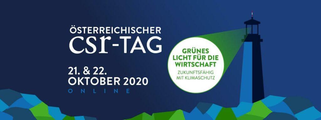 Vorstellung des Circular Economy Forum Austria auf dem CSR – TAG 2020